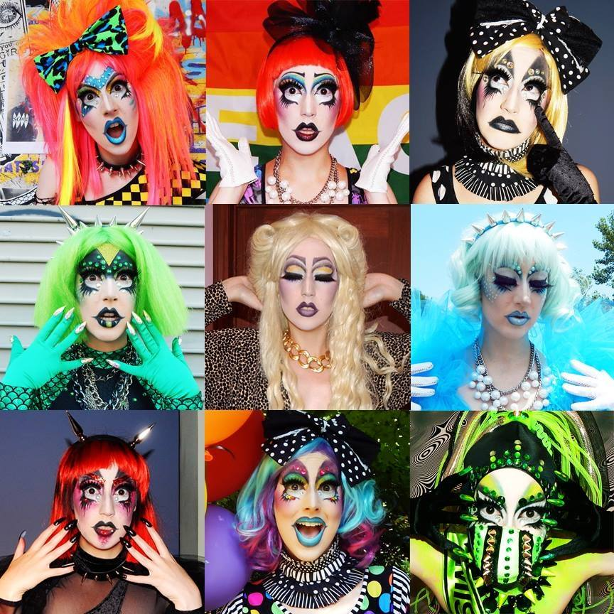 The many faces of Drag Queen Pierretta Viktori